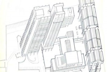 an architect's plan of the Polytechnic site